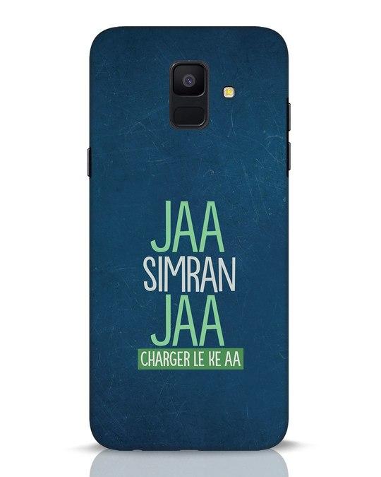 Shop Jaa Slmran Jaa Charger Le Ke Aa Samsung Galaxy A6 2018 Mobile Cover-Front