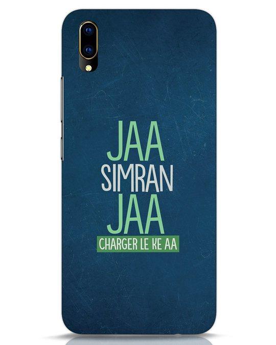 Shop Jaa Slmran Jaa Charger Le Ke Aa Vivo V11 Pro Mobile Cover-Front