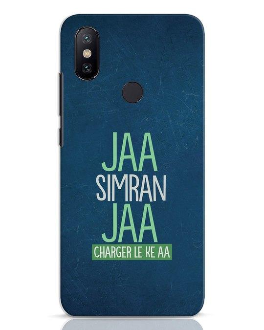 Shop Jaa Slmran Jaa Charger Le Ke Aa Xiaomi Mi A2 Mobile Cover-Front