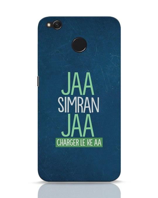 Shop Jaa Slmran Jaa Charger Le Ke Aa Xiaomi Redmi 4 Mobile Cover-Front