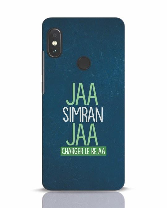 Shop Jaa Slmran Jaa Charger Le Ke Aa Xiaomi Redmi Note 5 Pro Mobile Cover-Front