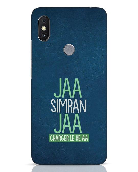 Shop Jaa Slmran Jaa Charger Le Ke Aa Xiaomi Redmi Y2 Mobile Cover-Front