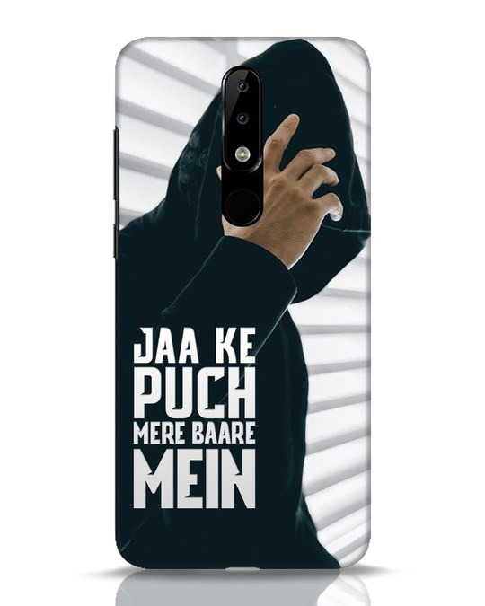 Shop Jaake Puch Mere Baare Mein Nokia 5.1 Plus Mobile Cover-Front