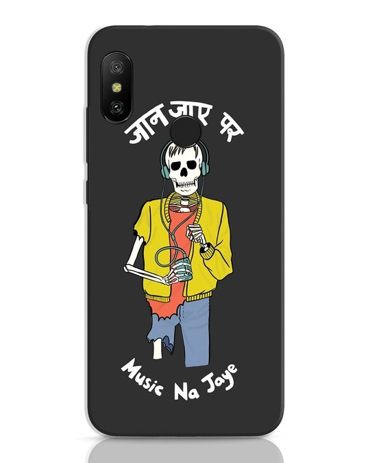 Shop Jaan Music Xiaomi Redmi 6 Pro Mobile Cover-Front