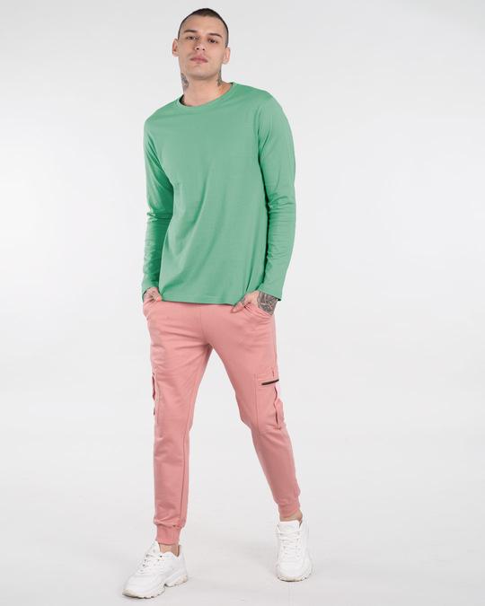 Shop Jade Green Full Sleeve T-Shirt-Full