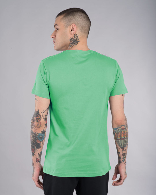 Shop Jade Green Half Sleeve T-Shirt-Design