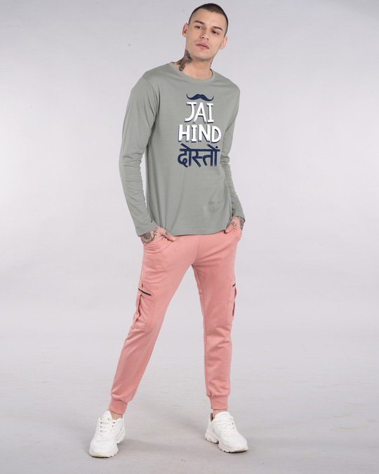 Shop Jai Hind Doston Full Sleeve T-Shirt-Full