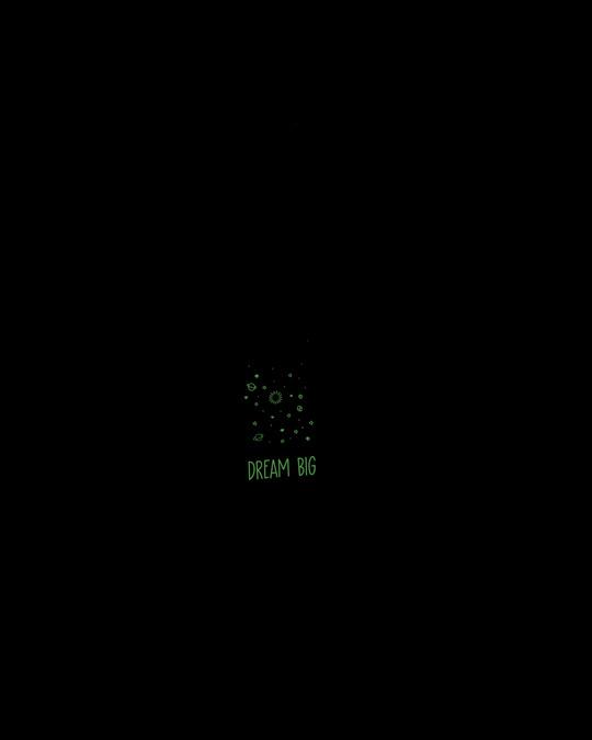 Shop Jar Of Dreams Round Neck 3/4th Sleeve T-Shirt (GID)-Back