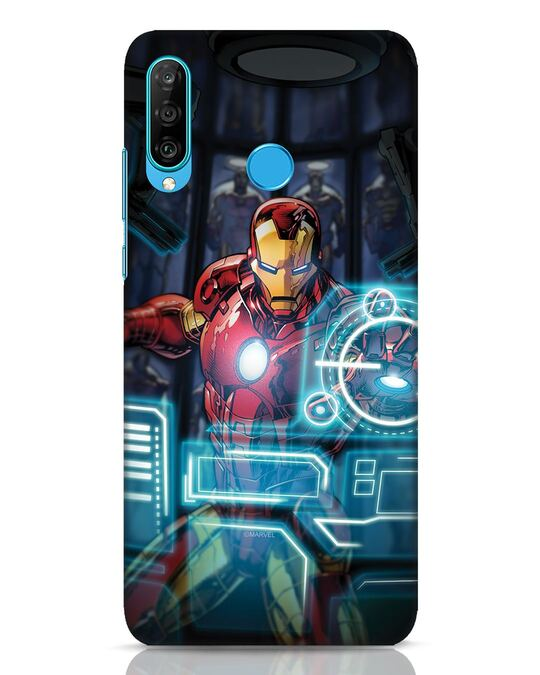 Shop Jarvis Huawei P30 Lite Mobile Cover (AVL)-Front