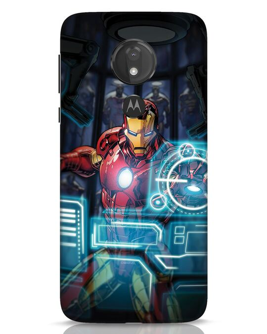Shop Jarvis Moto G7 Power Mobile Cover (AVL)-Front