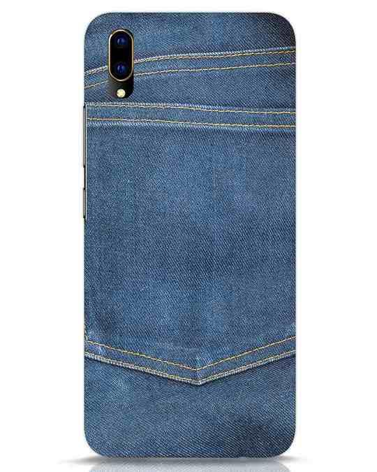 Shop Jeans It Up Vivo V11 Pro Mobile Cover-Front