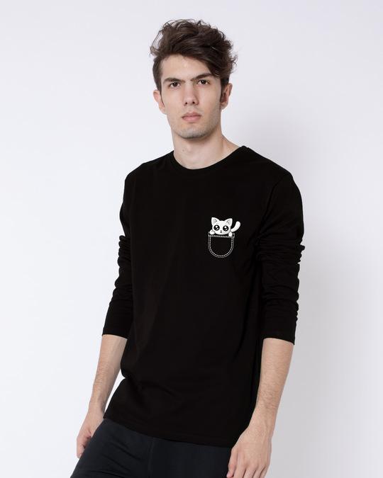 Shop Jeb Mein Billi Full Sleeve T-Shirt-Full