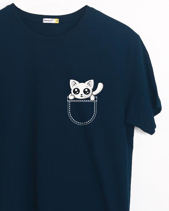 Shop Jeb Mein Billi Half Sleeve T-Shirt-Front