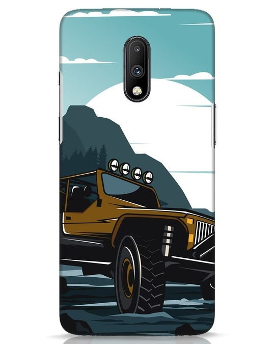 Shop Jeep OnePlus 7 Mobile Cover-Front