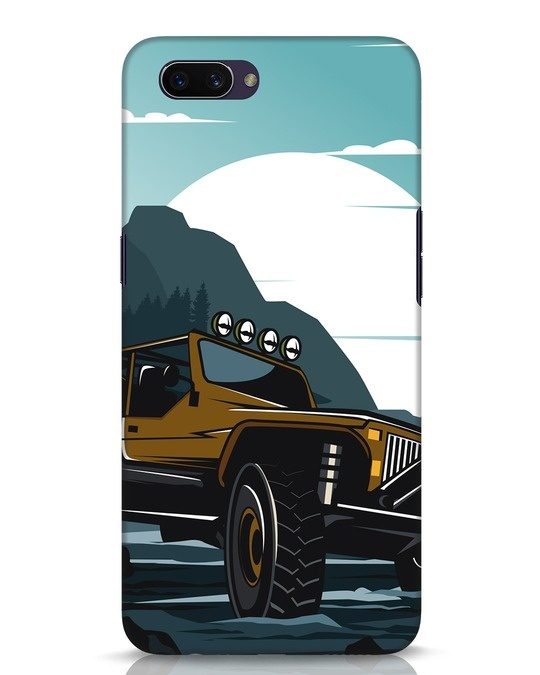 Shop Jeep Oppo A3S Mobile Cover-Front