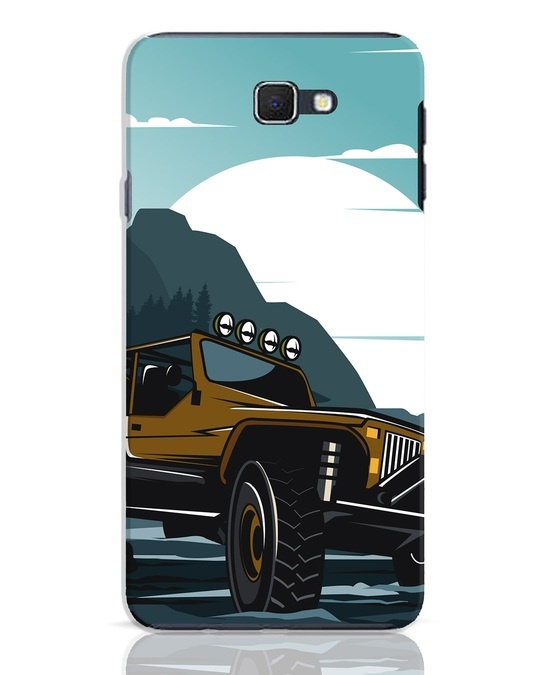 Shop Jeep Samsung Galaxy J7 Prime Mobile Cover-Front