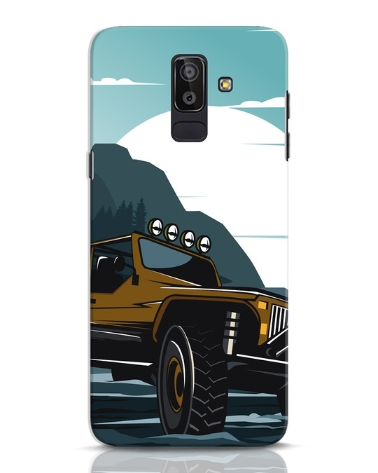 Shop Jeep Samsung Galaxy J8 Mobile Cover-Front