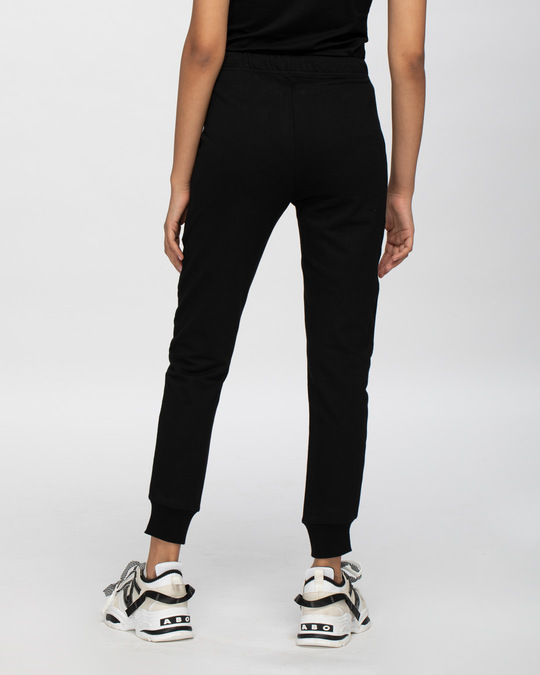 Shop Jet Black Casual Jogger Pant-Design