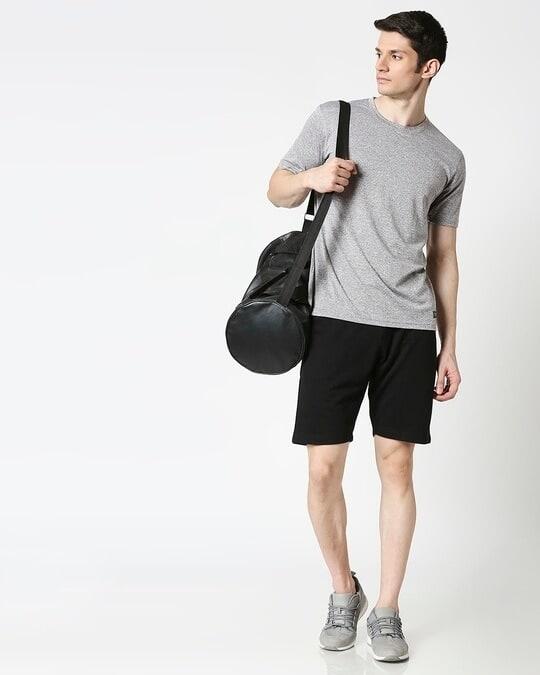 Shop Jet Black Casual Shorts