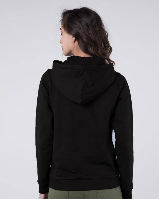 Shop Jet Black Fleece Hoodies-Full