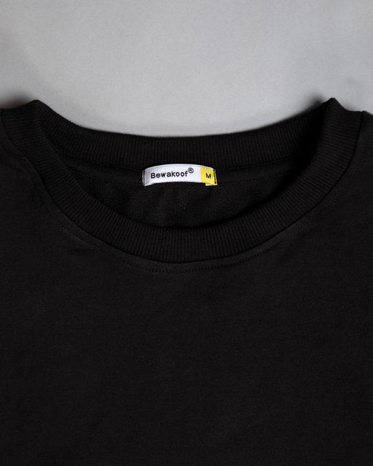 Shop Jet Black Fleece Light Sweatshirt