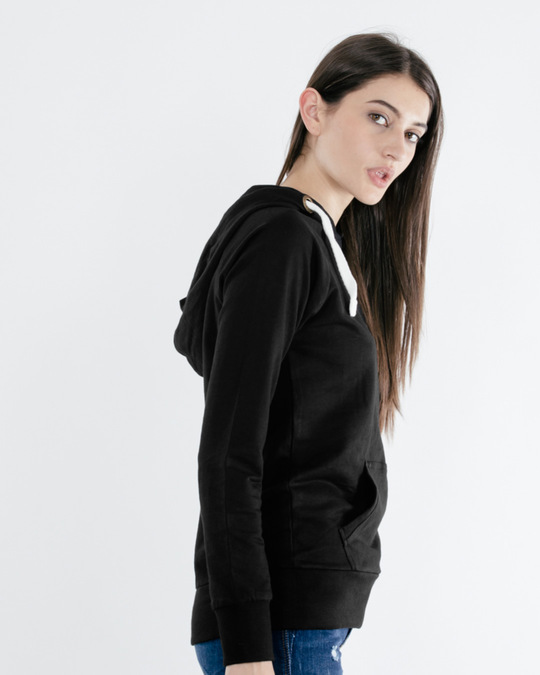 Shop Jet Black Raglan Sweatshirt-Back