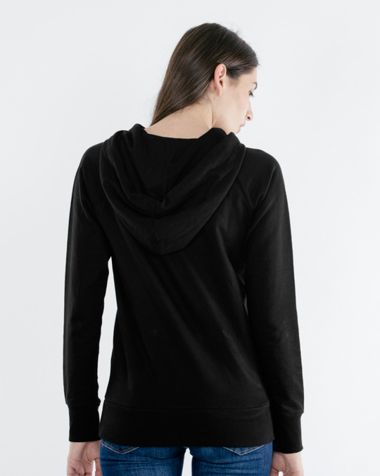 Shop Jet Black Raglan Sweatshirt-Full