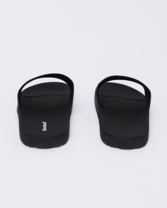 Shop Women Jet Black Sliders-Design