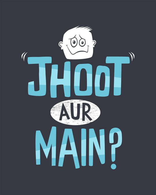 Shop Jhoot Aur Main Boyfriend T-Shirt