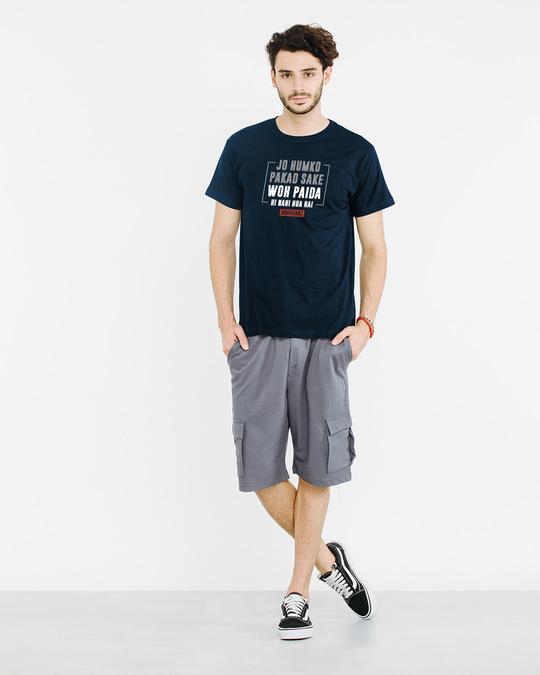 Shop Jo Humko Pakad Sake Half Sleeve T-Shirt