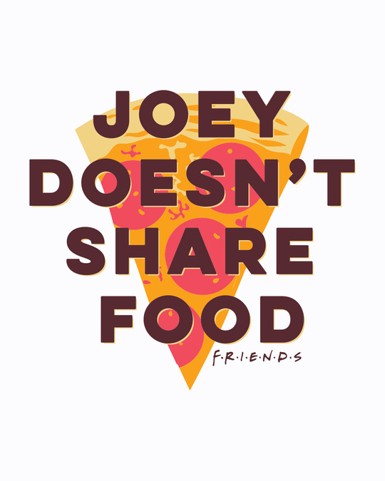 Shop Joey Doesn't Share (FRL) Half Sleeve Plus Size T-Shirt