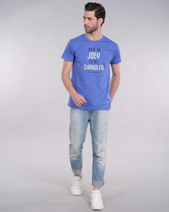 Shop Joey To My Chandler Half Sleeve T-Shirt ( FRL )