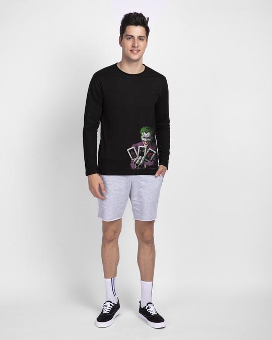 Shop Joker Cards Full Sleeve T-Shirt (BML)-Full
