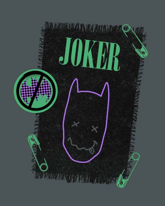 Shop Joker Cloth Clip Boyfriend T-Shirt (BML)
