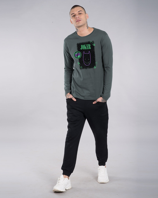 Shop Joker Cloth Clip Full Sleeve T-Shirt (BML)-Design