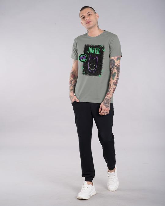 Shop Joker Cloth Clip Half Sleeve T-Shirt (BML)-Design