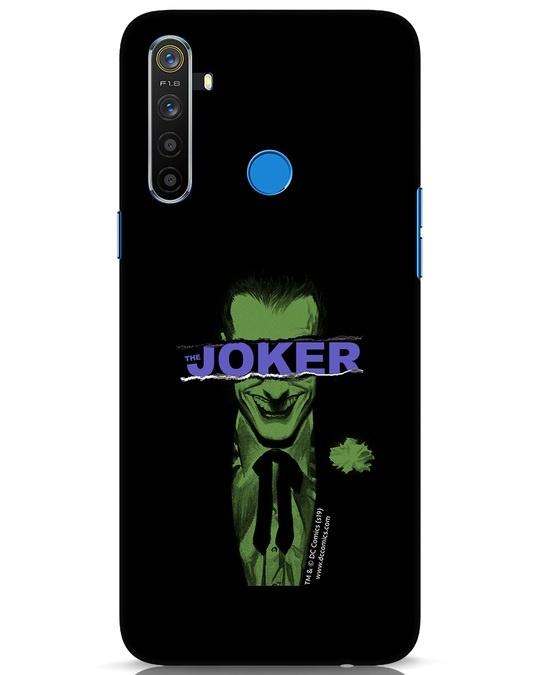 Shop Joker Torn Realme 5 Mobile Cover (BML)-Front