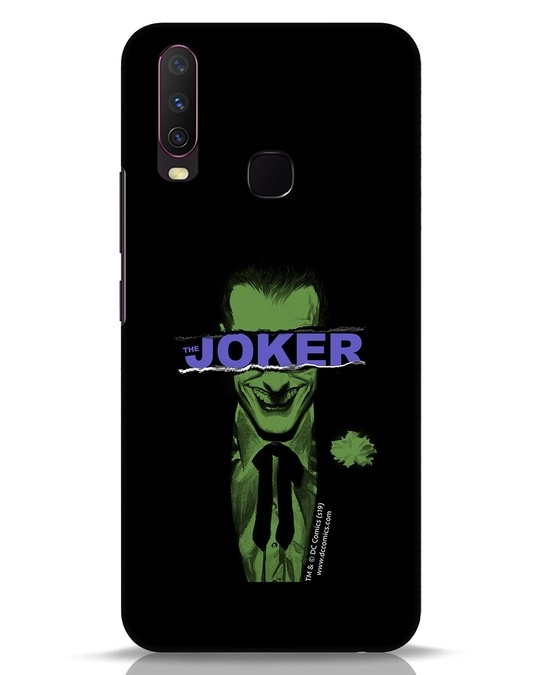 Shop Joker Torn Vivo Y17 Mobile Cover (BML)-Front