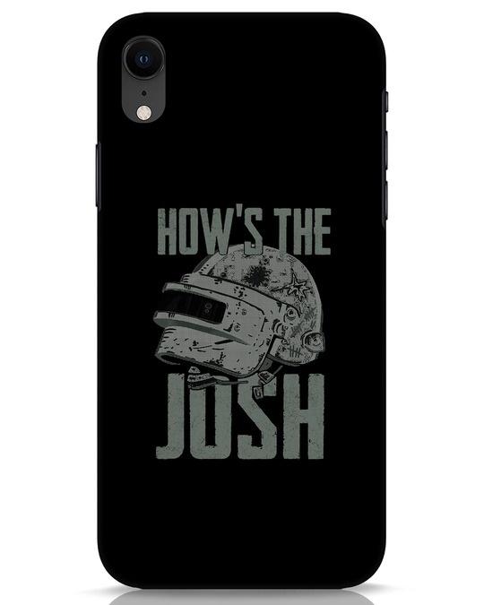 Shop Josh Pubg iPhone XR Mobile Cover-Front