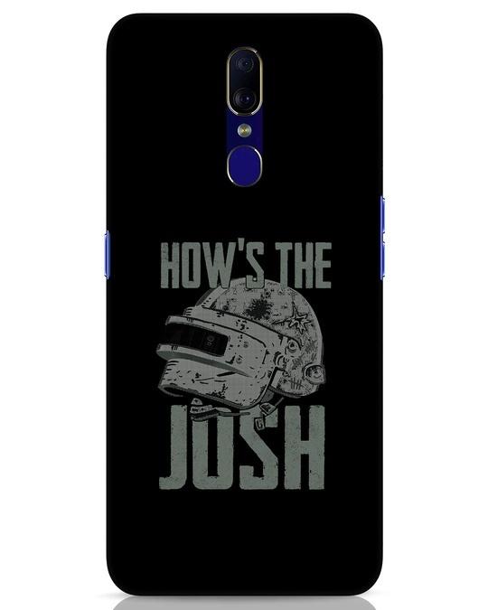 Shop Josh Pubg Oppo F11 Mobile Cover-Front