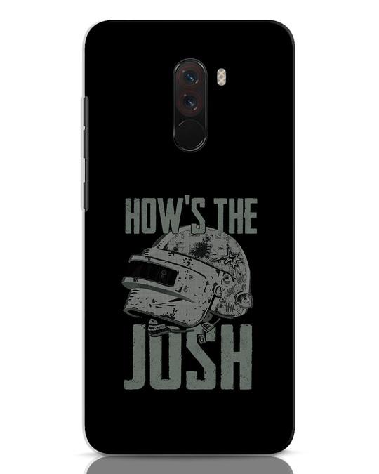 Shop Josh Pubg Xiaomi POCO F1 Mobile Cover-Front