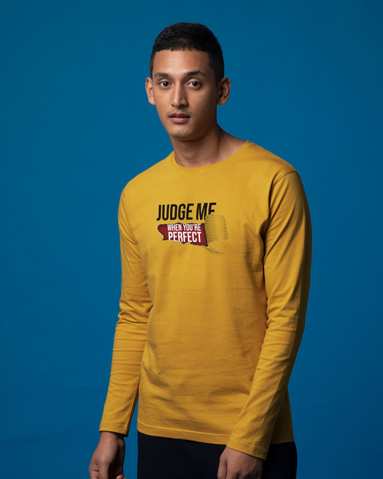 Shop Judge Me Full Sleeve T-Shirt-Back