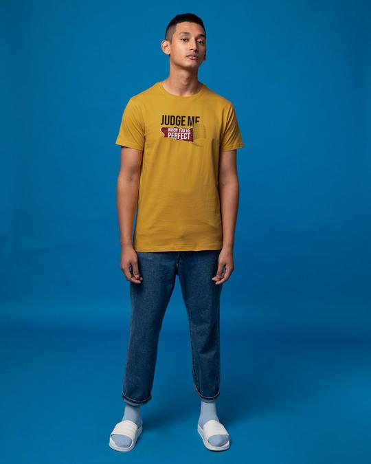 Shop Judge Me Half Sleeve T-Shirt