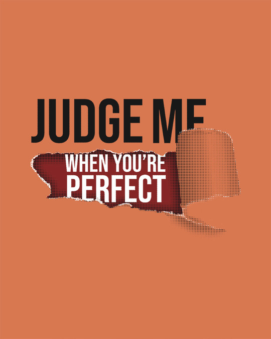 Shop Judge Me Half Sleeve T-Shirt