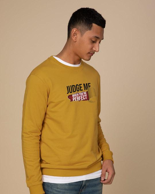 Shop Judge Me Sweatshirt-Back