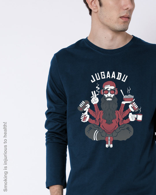 Shop Jugaadu Character Full Sleeve T-Shirt-Front