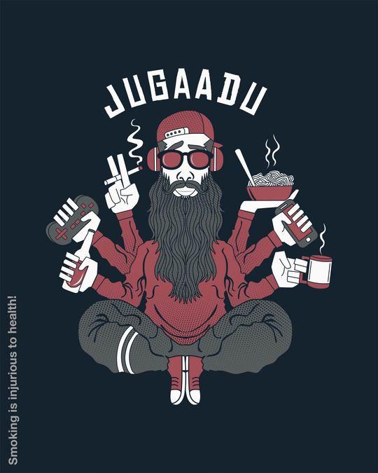 Shop Jugaadu Character Half Sleeve T-Shirt