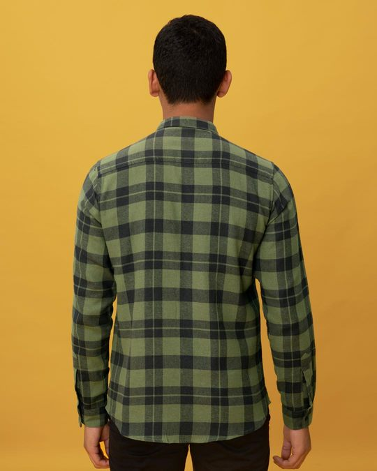 Shop Juniper Green Checked Shirt-Design