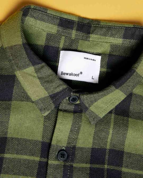 Shop Juniper Green Checked Shirt