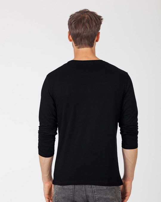 Shop Just Breathe Full Sleeve T-Shirt-Back